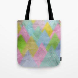 Acid Mountains Tote Bag