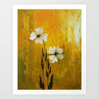 Soothing Comfort of Relationship  Art Print