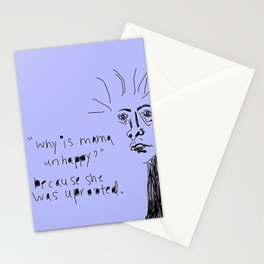 Daughter of a Palestinian Immigrant Stationery Cards