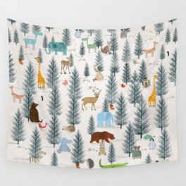 little nature woodland Wall Tapestry