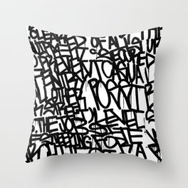 Specification 1 Throw Pillow