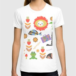 Trav pattern 3h T-shirt