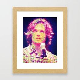 Lion Boy Framed Art Print