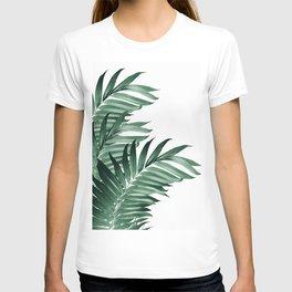 Palm Leaves Tropical Green Vibes #3 #tropical #decor #art #society6 T-shirt