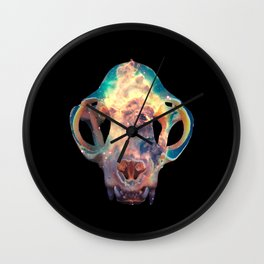 The Bones Galaxy Wall Clock