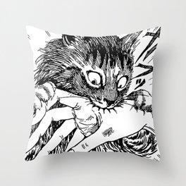 Menggg Throw Pillow