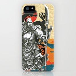 Japanese Samurai Ninja Warrior (8) iPhone Case