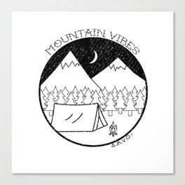 Mountain Vibes Canvas Print