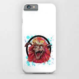 Fiery Circle iPhone Case