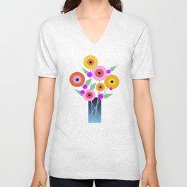 Floral Potpourri Unisex V-Neck