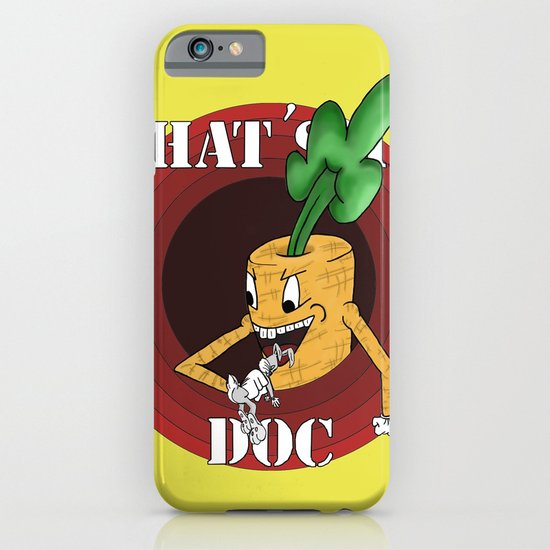 What's Up Doc iPhone & iPod Case