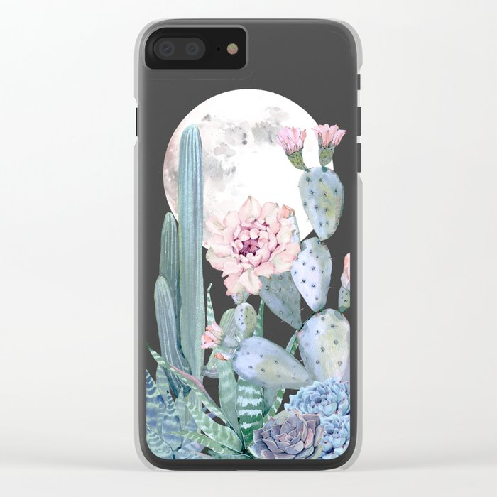 Desert Nights by Nature Magick Clear iPhone Case