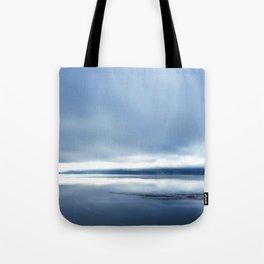 Soft winter sky Tote Bag