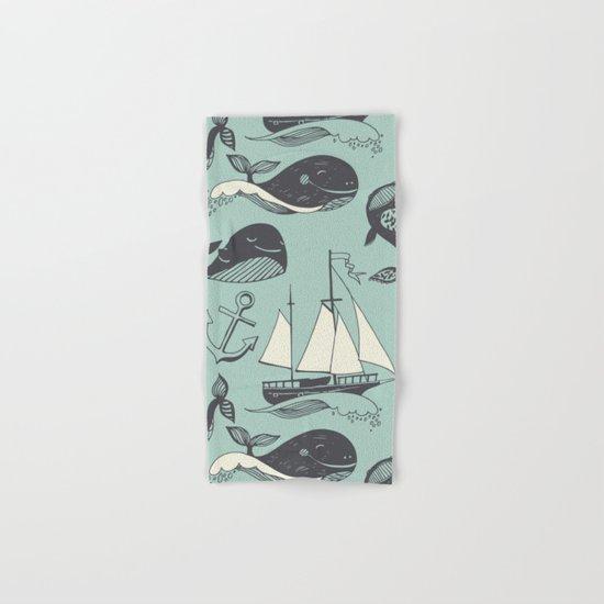 Whales 2 Hand & Bath Towel