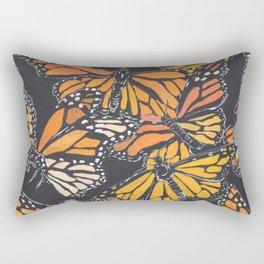 Monarch Print Rectangular Pillow