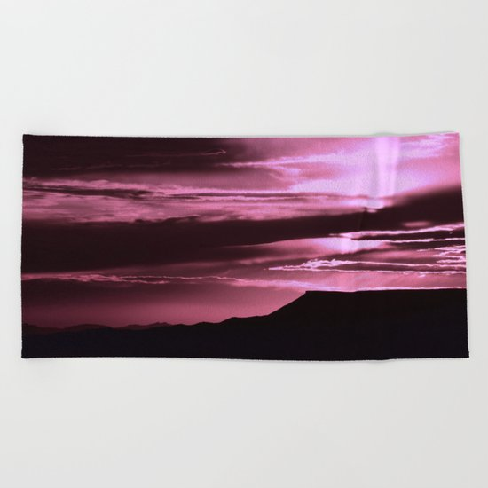 SW Rose Mesa Sunset Beach Towel