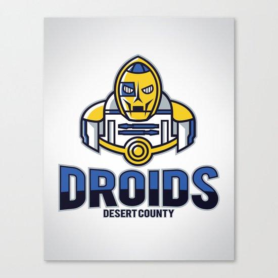 Desert County Droids Canvas Print