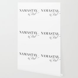 namastay in bed Wallpaper
