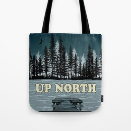 Up North at Night Tote Bag