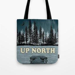 Up North at Night Tote Bag
