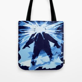 Man is the warmest place to hide ... Tote Bag