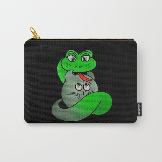 Cat Personality Carry-All Pouch