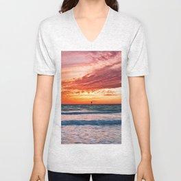 Clearwater Beach, Florida Unisex V-Neck