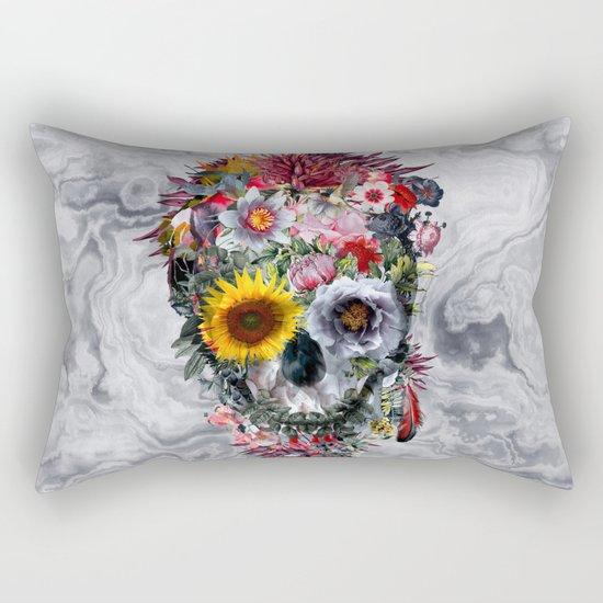 Voodoo Skull Rectangular Pillow