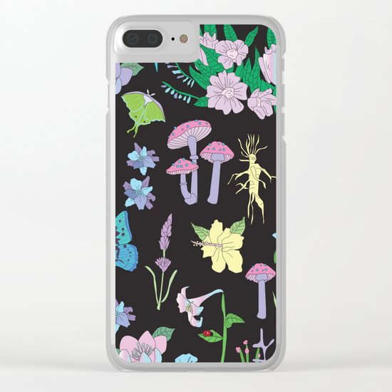 Garden Witch Clear iPhone Case