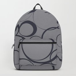 Circle Pattern Pantone 2021 Color of the Year Backpack