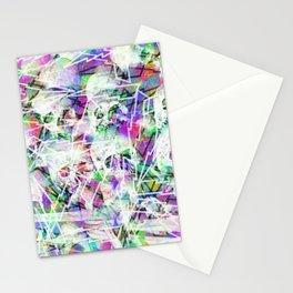 Rock n' roll skulls Stationery Cards