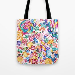 CandyWorld Tote Bag
