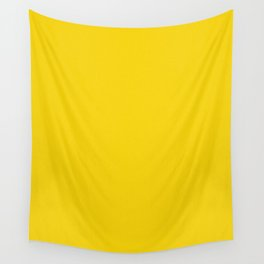 Gold Yellow Light Pixel Dust Wall Tapestry