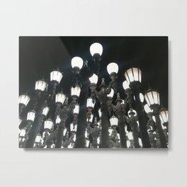 LACMA Lights At Night Metal Print