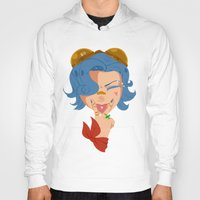 popart Hoodies featuring Steampunk Popart by Arrington Johnson