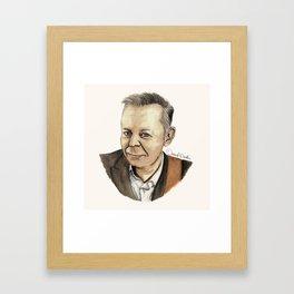 Tommy Emmanuel Framed Art Print