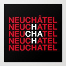 NEUCHATEL Canvas Print