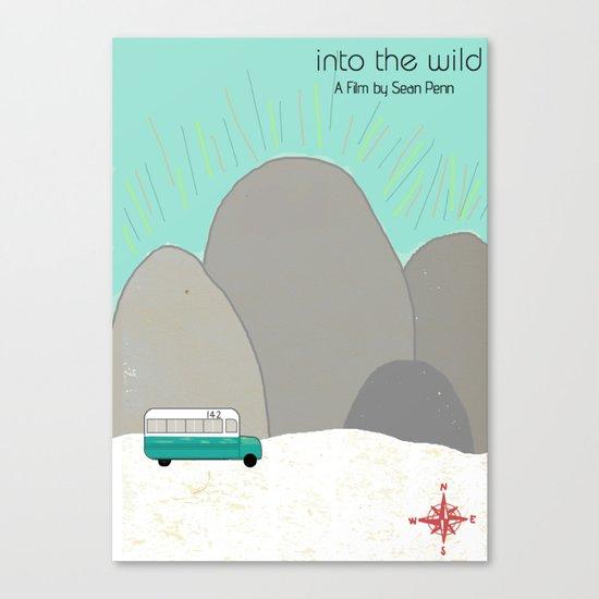 "Sean Penn's ""Into the Wild"" Canvas Print"