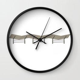 Baseball Stadium Shade Wall Clock