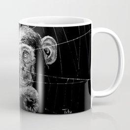 WATCHING THE SPIDER Coffee Mug