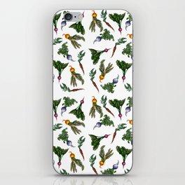 Root Vegetable Pattern iPhone Skin