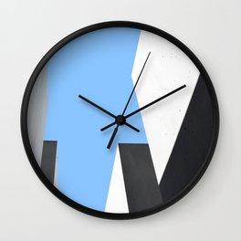 Memorial in Berlin - Abstract Minimalist Photography Art Print Wall Clock