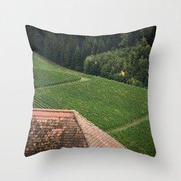 Countryside Textures Throw Pillow