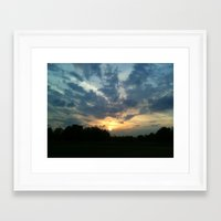 shining Framed Art Prints featuring Shining by TheLeadcup