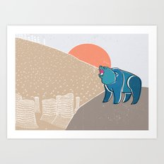 My home! Art Print