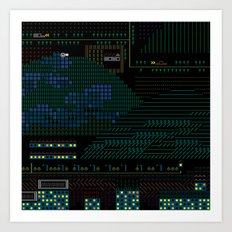 A Coded Message #4 Art Print