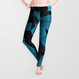 3D Futuristic GEO BG II Leggings