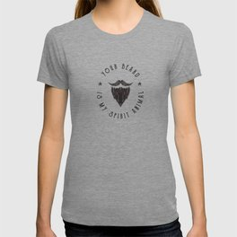 Foul Mouth :: Your Beard Is My Spirit Animal T-shirt