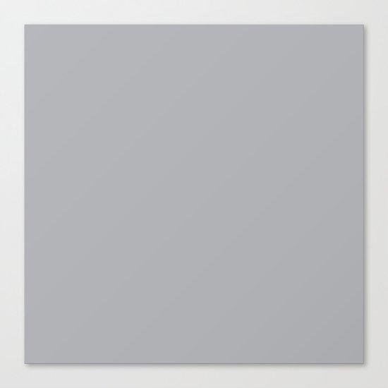 Simply Concrete Gray Canvas Print