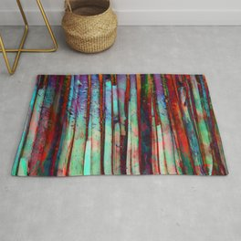 Colored Bamboo 2 Rug